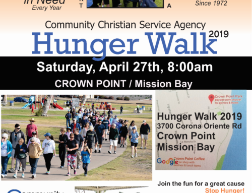 CCSA Hunger Walk