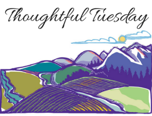 Thoughtful Tuesday 8/20/17