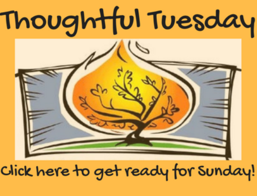 Thoughtful Tuesday … getting ready for 9/3/17