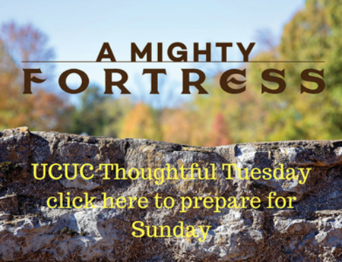 Thoughtful Tuesday … getting ready for Sunday, 10/29/17