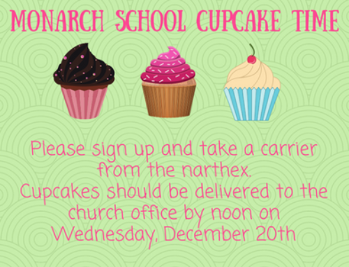 Monarch School Cupcakes