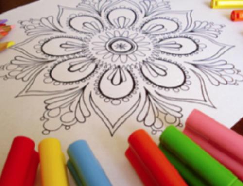 Advent Tea & Coloring